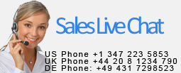sales live chat